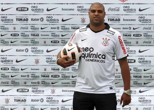 Dikke voetballers: Adriano