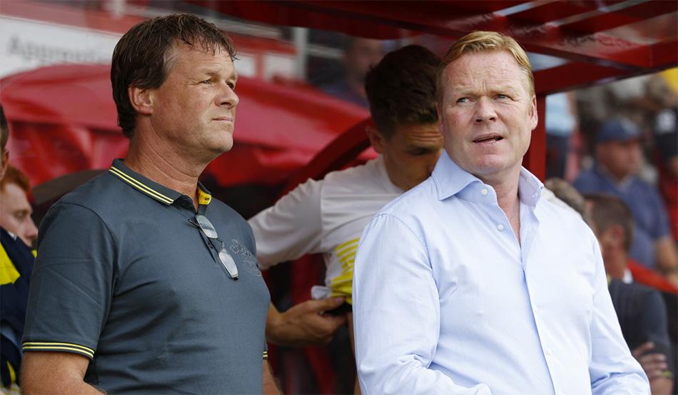 Koeman in shock door Feyenoord-drama