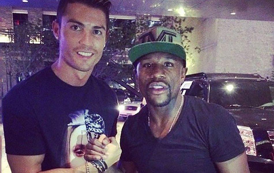 Mayweather kan Ronaldo huren