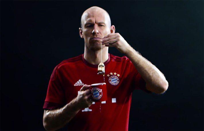 Robben in hilarische Bayern-reclame