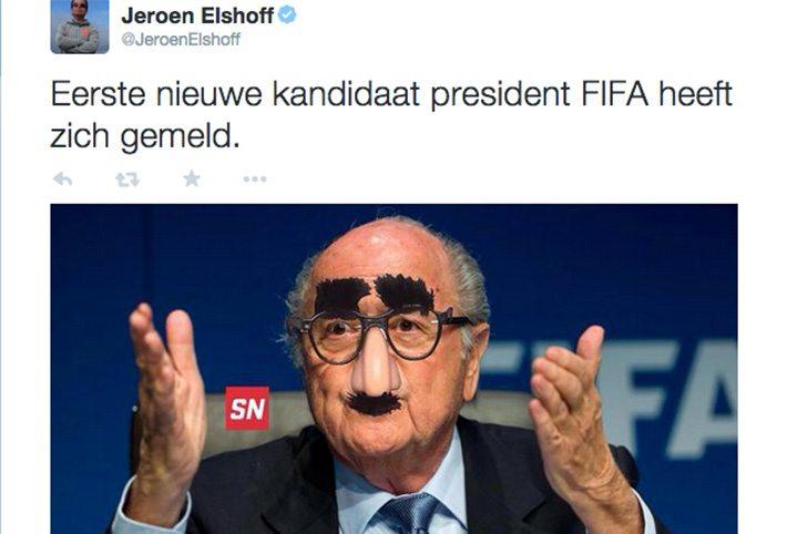 10 hilarische reacties op Blatter's vertrek