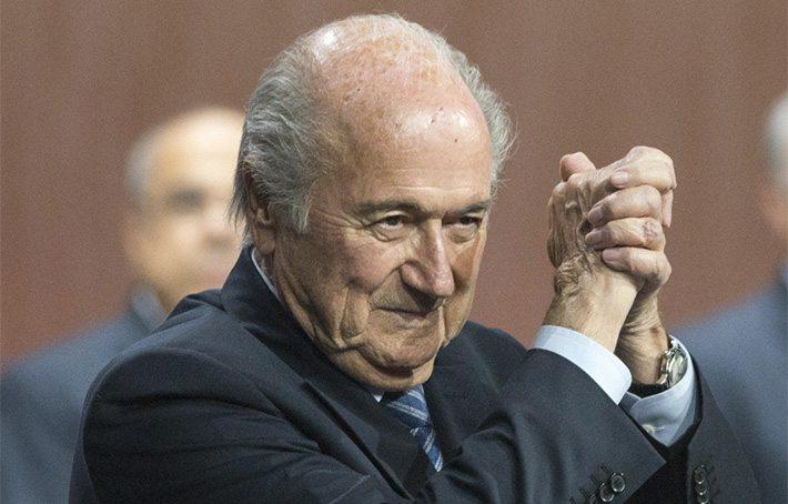 Blatter: 'Ik ben niet opgestapt'