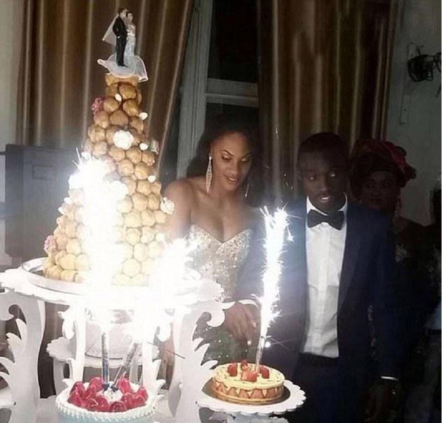 Cissé getrouwd, maar niet met zijn vriendin