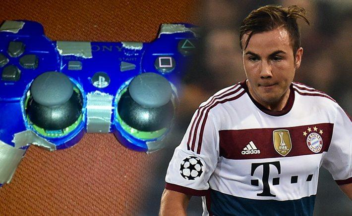 FIFA-speler faalt, krijgt controller van Gotze