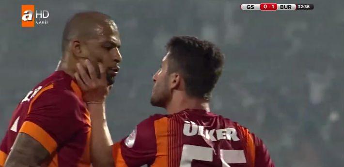 Bizarre taferelen bij Galatasaray