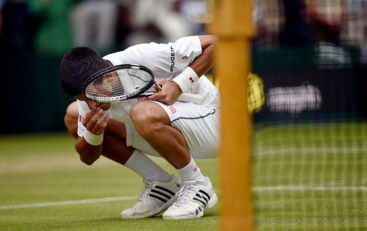 Dit is waarom Djokovic gras eet