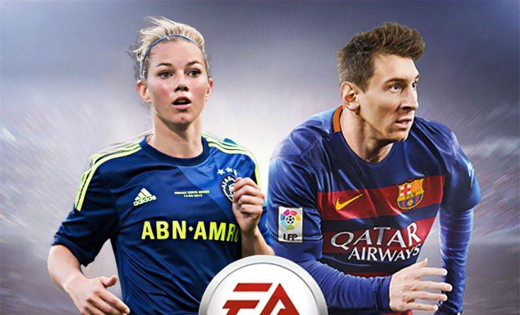 Nice! Eindelijk ballen met Anouk Hoogendijk in FIFA 17