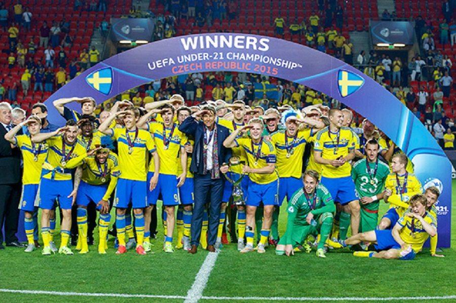 Europees kampioen Zweden DIST Frans international