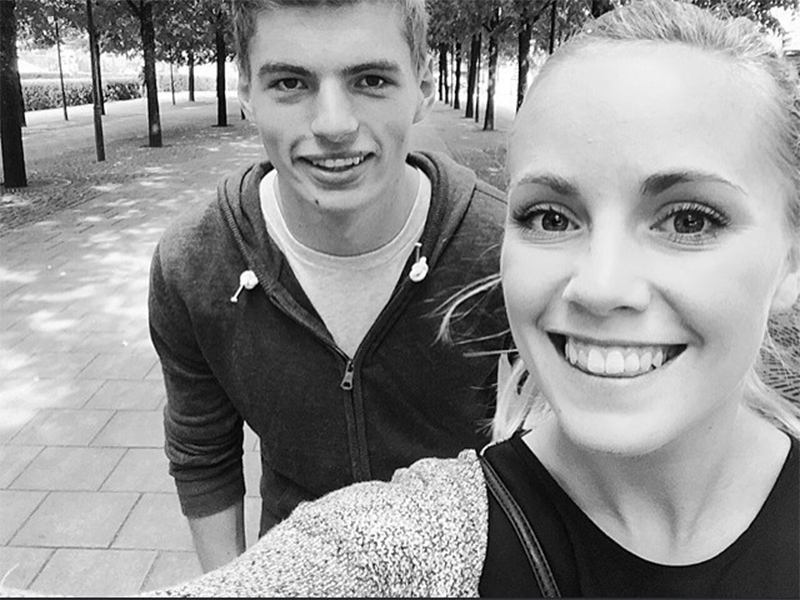 De heerlijke vriendin van Max Verstappen