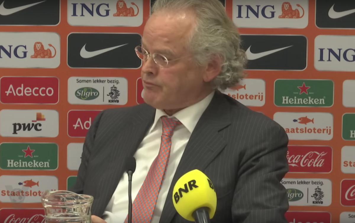 KNVB-baas wordt keihard uitgelachen