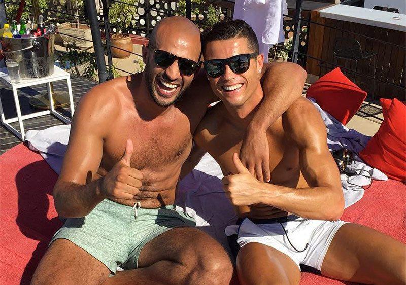 Ronaldo doet Badr Hari