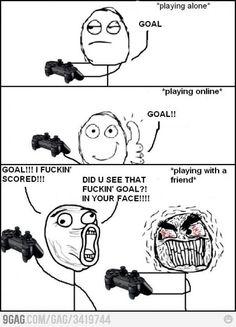 FIFA met vrienden