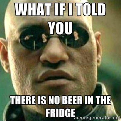 Geen bier