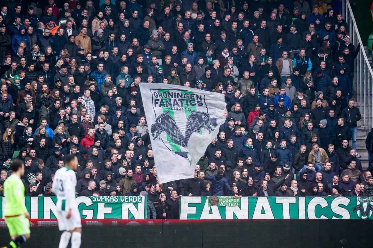 Groningen-fan opgepakt na dit walgelijke gebaar