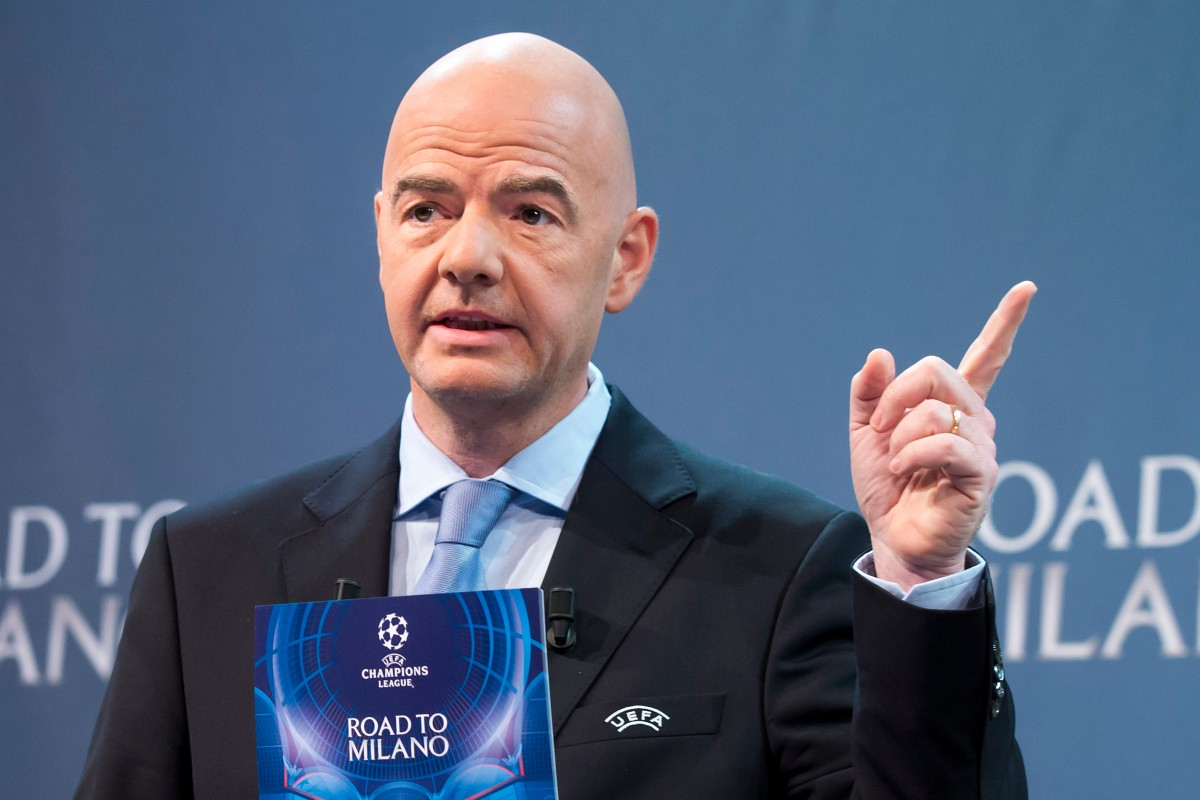 Infantino is FIFA-baas