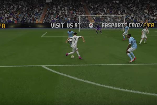 Fake rabona FIFA 16