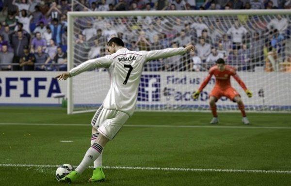 Rabona-schot FIFA 16