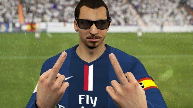 Camera celebration FIFA 16
