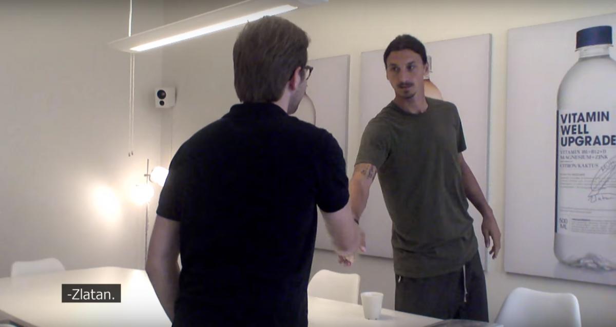 Haha! Een sollicitatiegesprek met Zlatan!