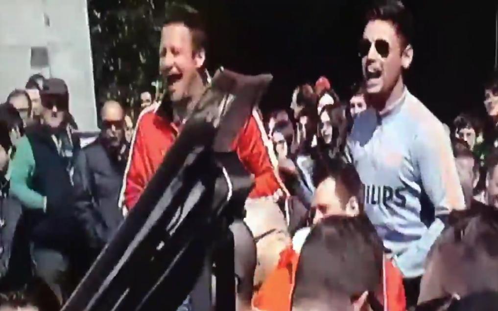 PSV'ers vernederen zwervers in Madrid