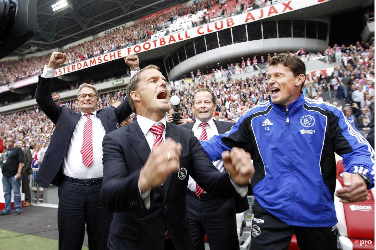 Ajax eerste titel De Boer