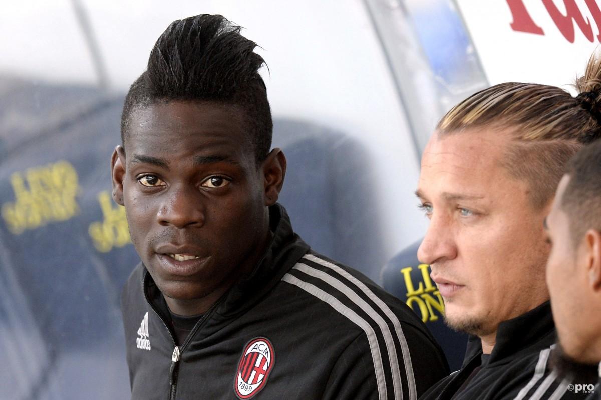 Balotelli doet face-swap met teammaat, het resultaat is angstaanjagend
