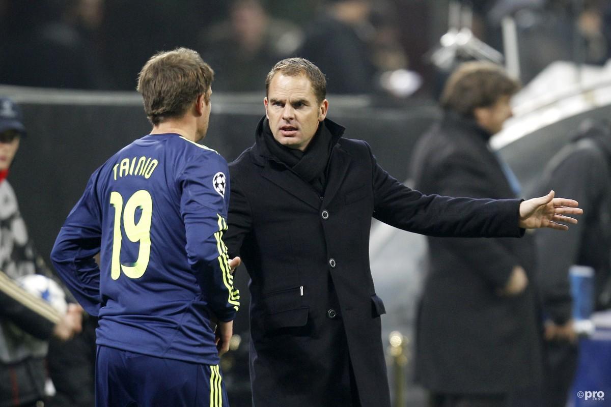 Frank de Boer net trainer Ajax