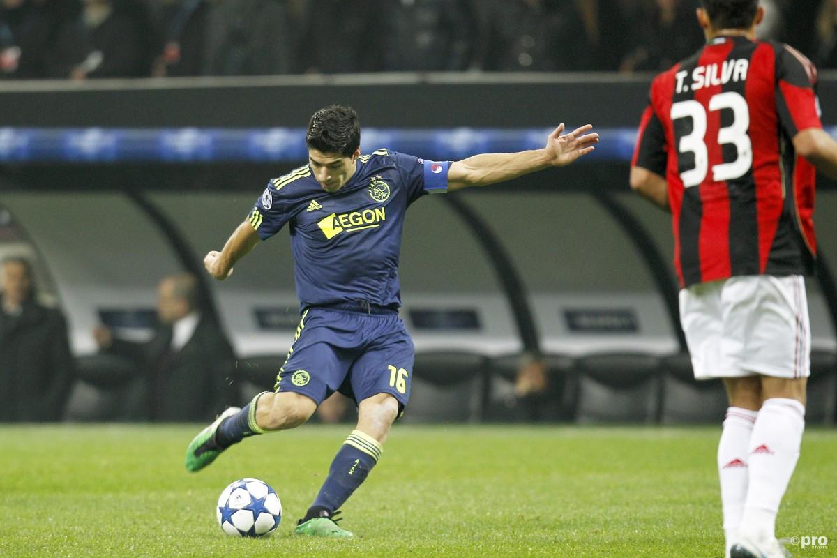 Luis Suarez Ajax Milan