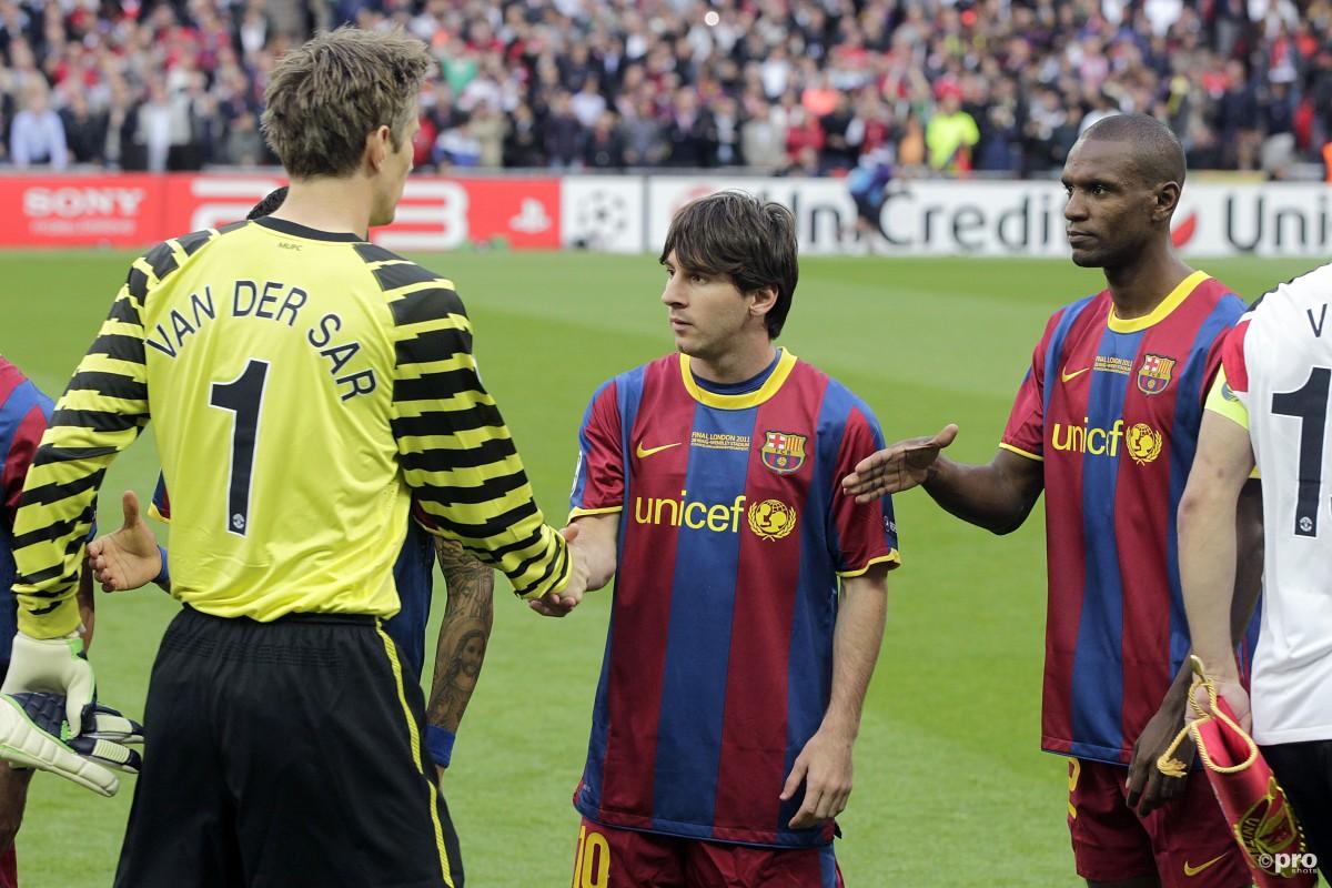 Lionel Messi Van der Sar