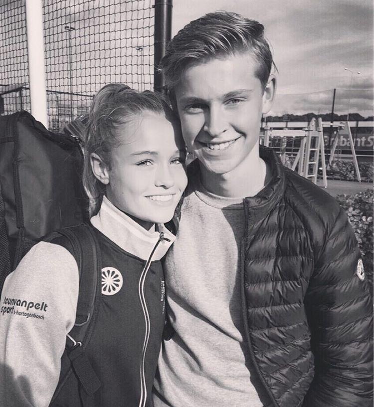 Mikky Kiemeney vriendin Frenkie de Jong