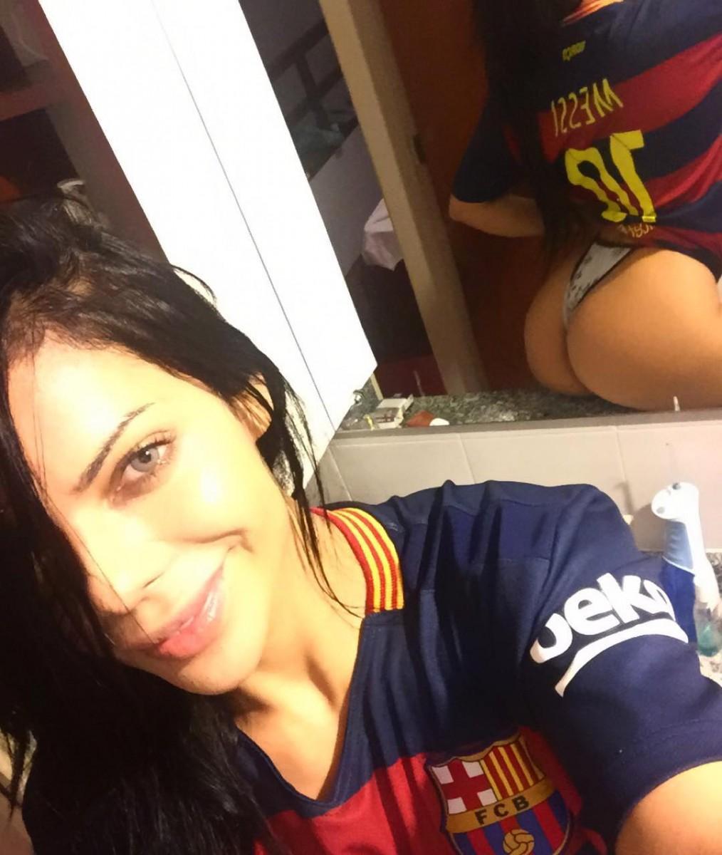 Miss BumBum Lionel Messi