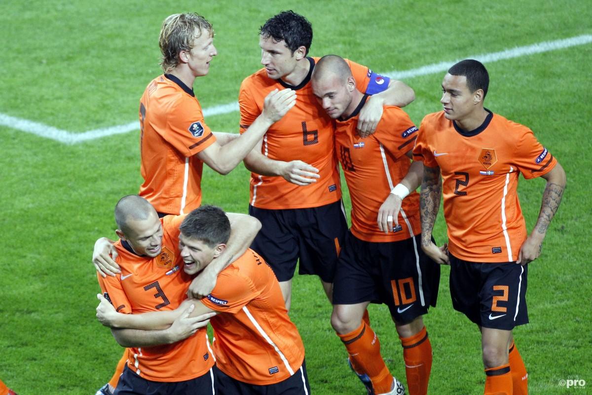 Oranje plaatste zich gemakkelijk voor het EK 2012
