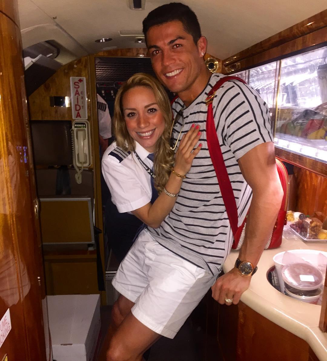 Ronaldo doet het met Barca-fan