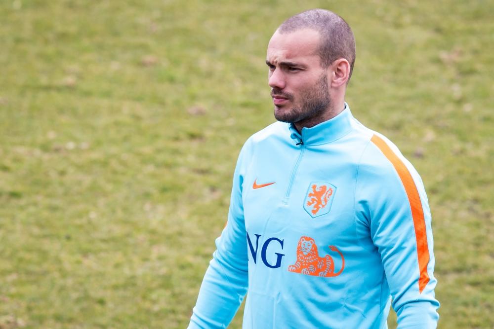"""Sneijder reageert op geruchten: """"Hoe zielig!"""""""