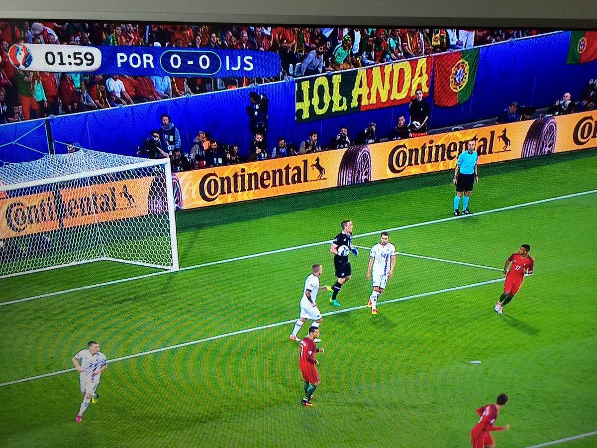 Portugezen juichen voor Holland