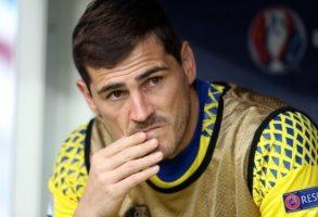 """Del Bosque negeert Casillas bij afscheid: """"Hij was niet blij"""""""