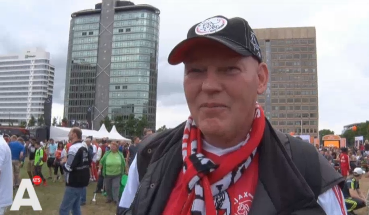 Deze Ajax-fan komt voor niets naar Open Dag