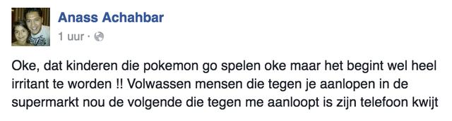 Feyenoord-spits is Pokemon Go spuugzat