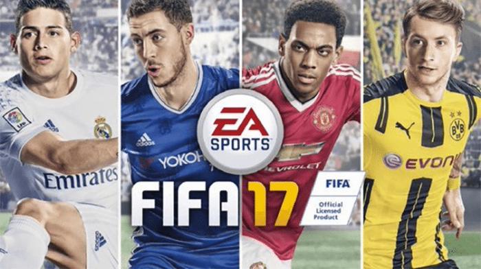 Dortmund-ster op FIFA 17-cover