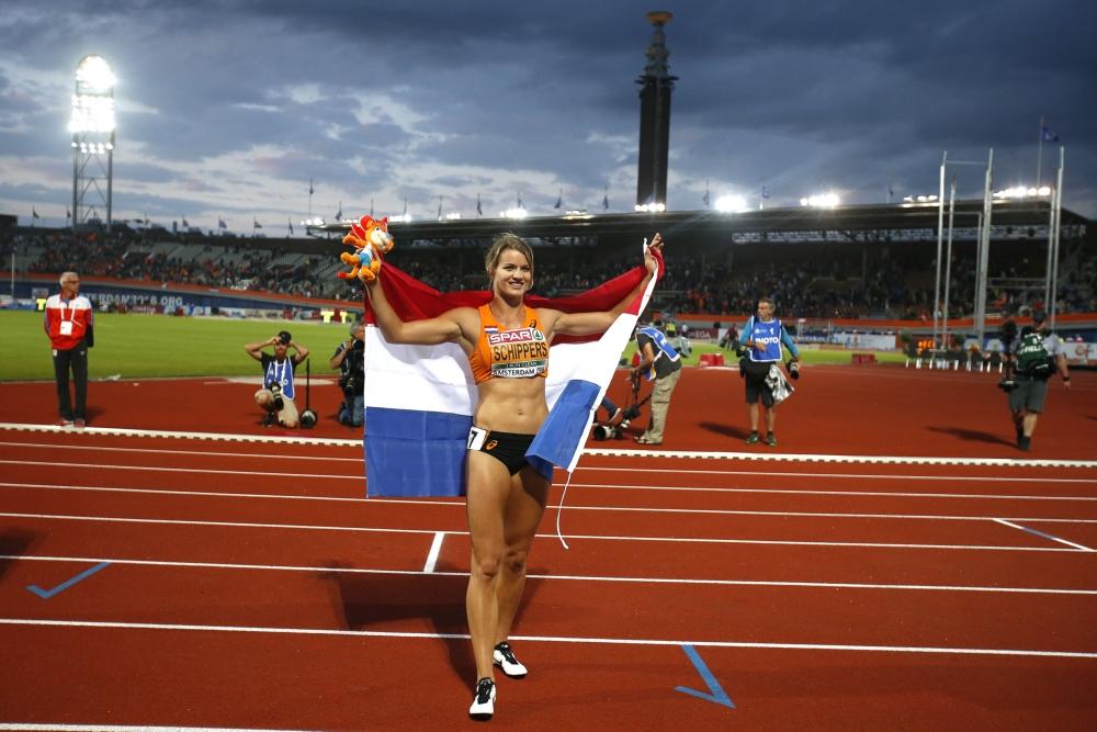 Nederlands goud op 4×100 meter