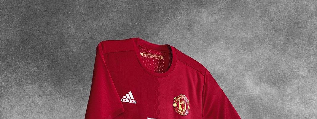 United showt nieuw thuisshirt