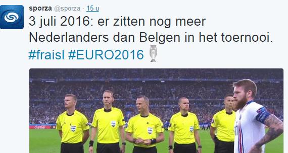 Heerlijke zelfspot van Belgische nieuwszender