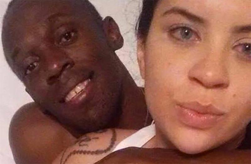Bolt feest in Londen, pikt rijen dames op