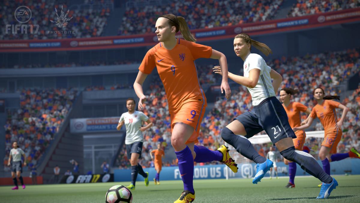 Nederlands vrouwenteam in FIFA 17