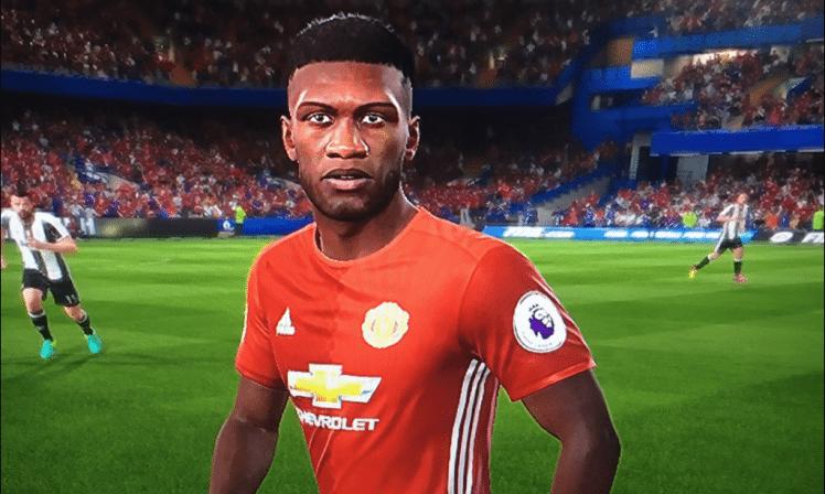 Nederlandse United-speler zeurt over zijn FIFA-hoofd