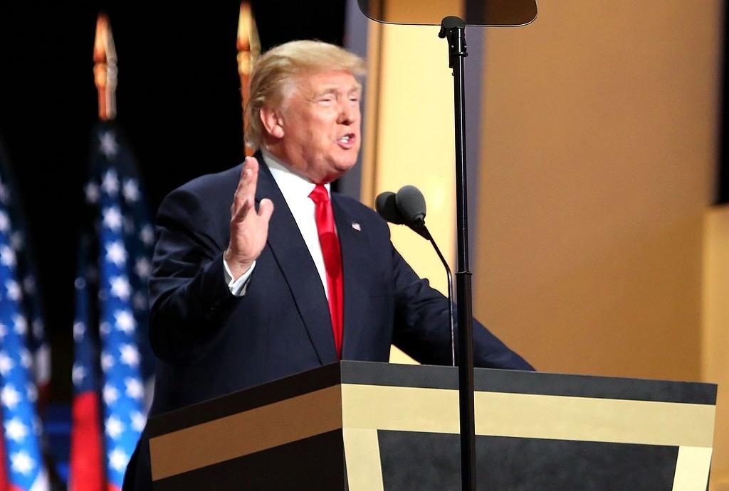 Donald Trump presidentskandidaat