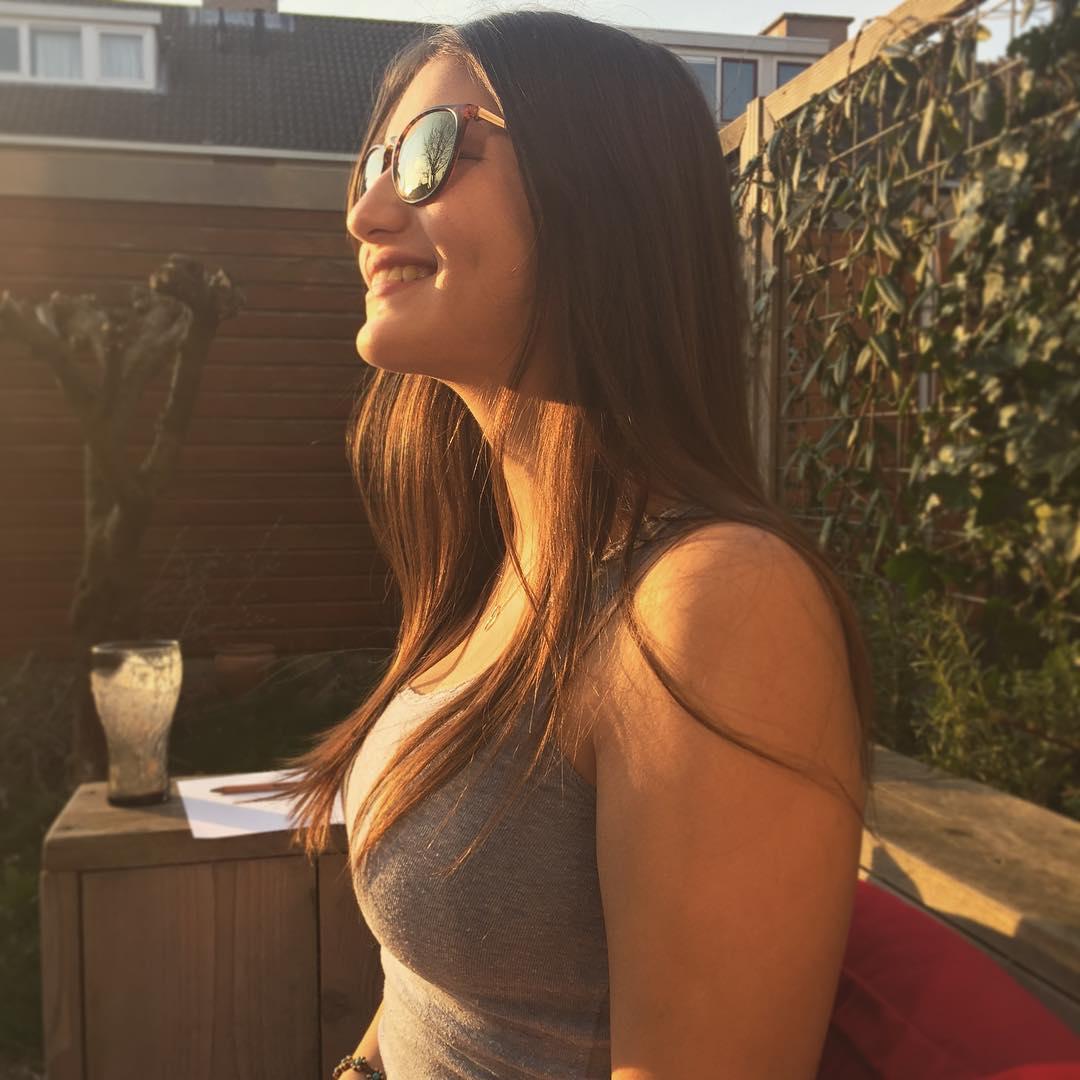 Annick Diekman, de vriendin van Matthijs de Ligt