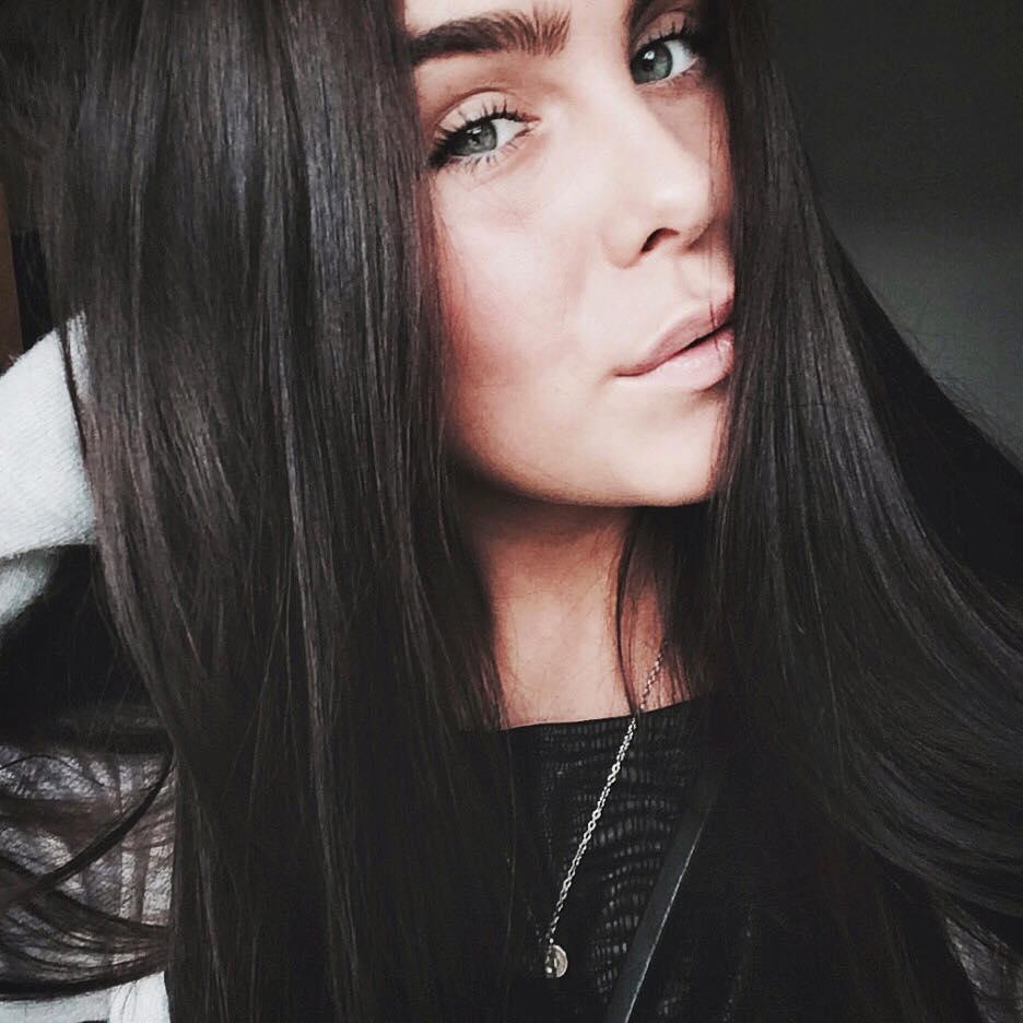 Cecilie Hornbaek Bruun, vriendin Kasper Dolberg