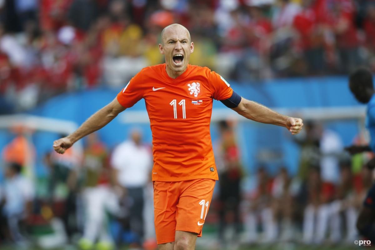 De 10 allermooiste momenten van Robben in Oranje
