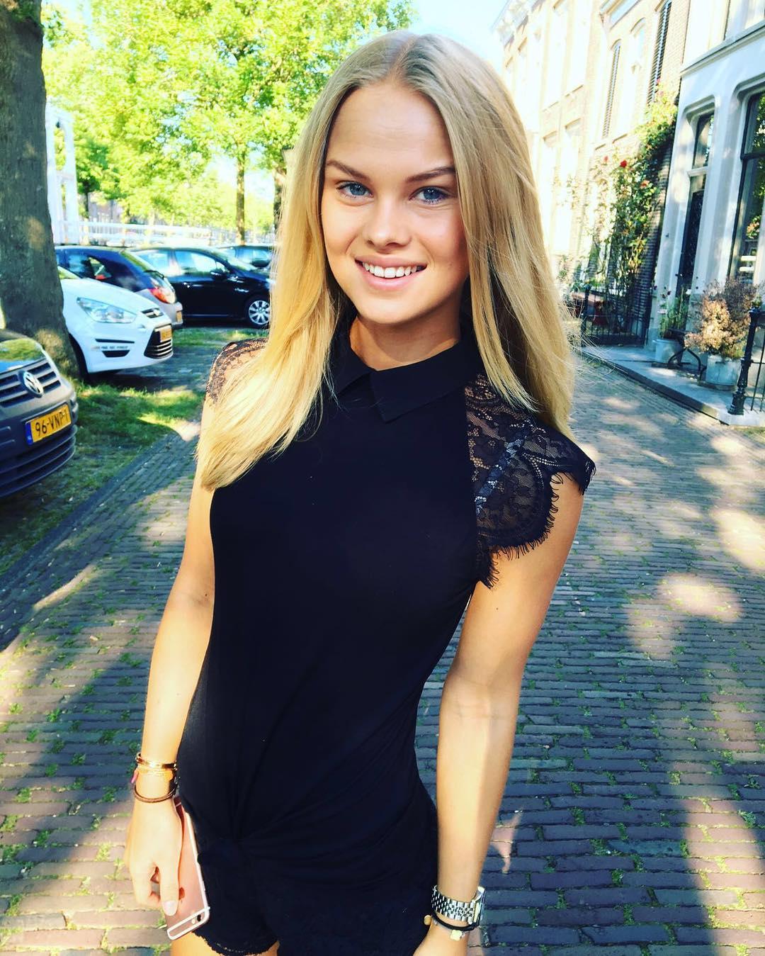Jackie de Boer dochter Frank de Boer